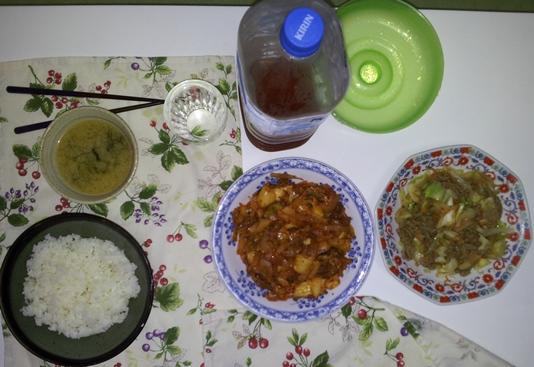 2012-07-17 晩御飯