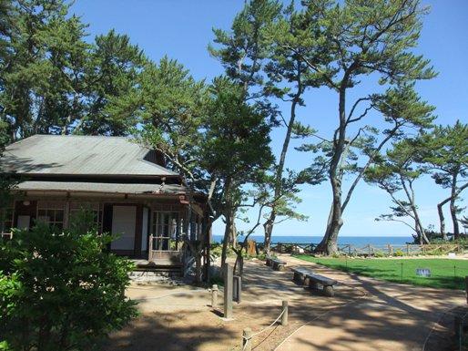 岡倉天心の家
