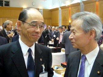 竹崎最高裁長官と江田五月議員