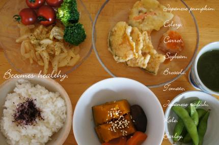天ぷら昼ごはん