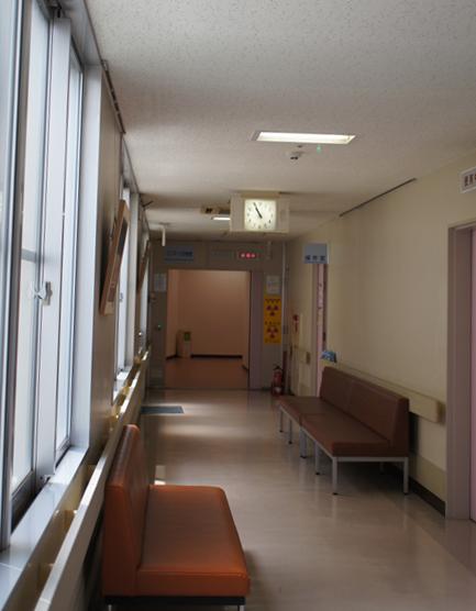 放射線部屋入り口