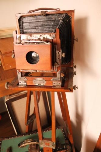 蛇腹写真機