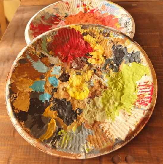 紙皿パレット