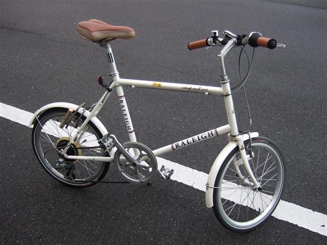 自転車の ラレー 自転車 ミニベロ : ... ミニベロ(Raleigh RSW Sport)の整備