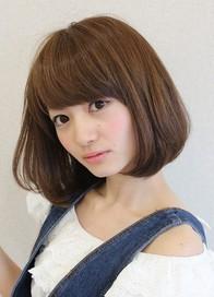 30代女性におすすめの髪型 大人カジュアルボブヘアスタイル