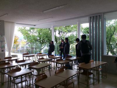 121118宇土小学校教室