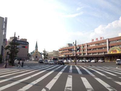 釧路駅遠景