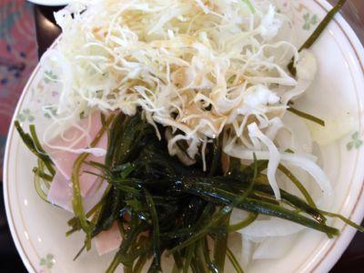 野菜・オニオンサラダ