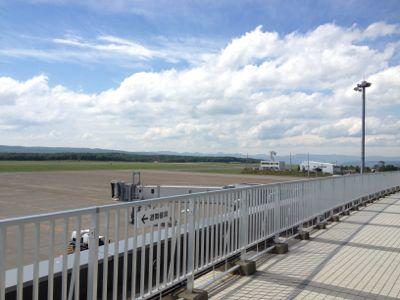 釧路空港の風景