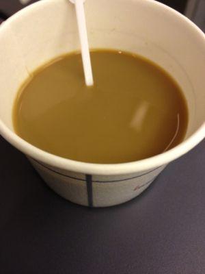 機内でもコーヒー