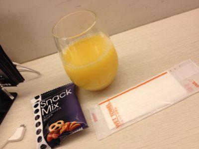 オレンジジュースなど