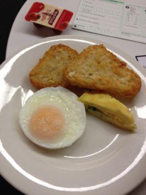 ポテトに卵