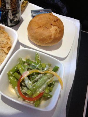 パンとアスパラガス