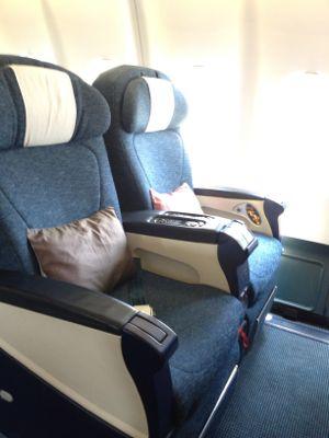 A330の座席