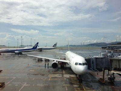 関西国際空港行きANA176便