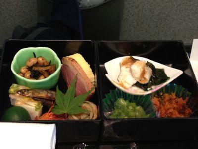 2012年7月の機内食メインなど