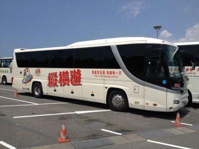 香港の観光バス