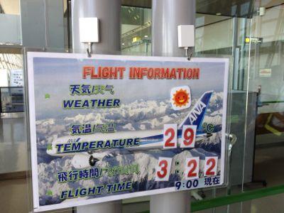 飛行時間など