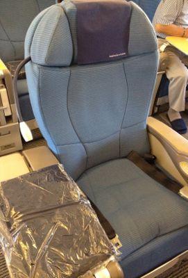ボーイング767座席