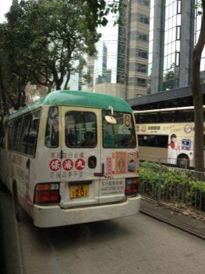 8番のバス