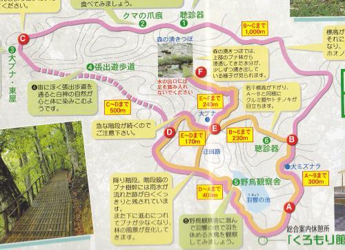 ミニ白神MAP