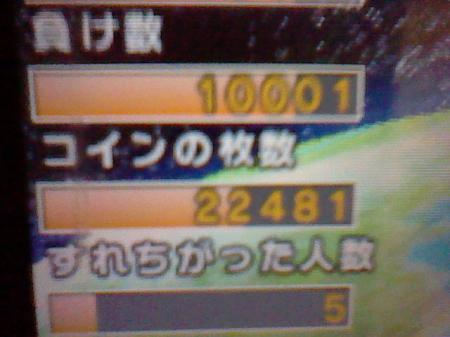 10000敗