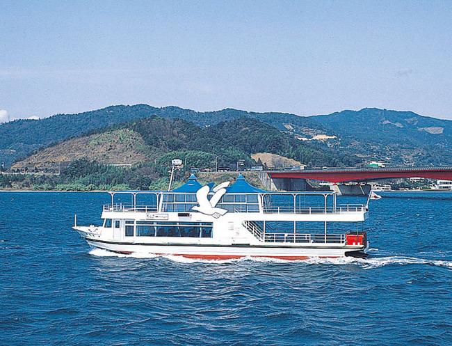 移りゆく浜名湖の四季を船上から満喫
