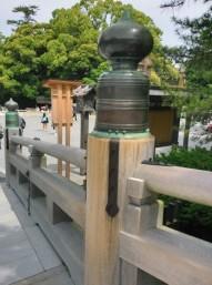 宇治橋の擬宝珠 (2)
