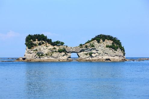 南紀円月島
