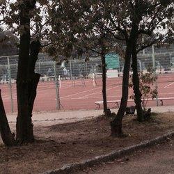 服部緑地テニスコート③