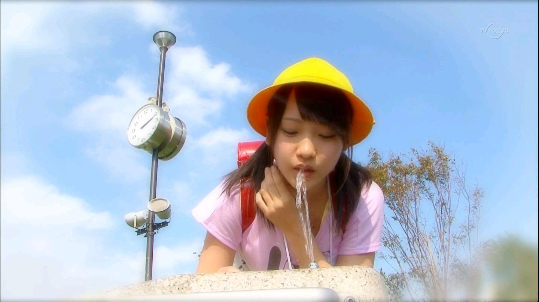 小学生 フェラ AKB48 川栄李奈 セクシー 擬似フェラ ロリ コスプレ 小学生 ランドセル 水飲み ぶっかけ用 エロ