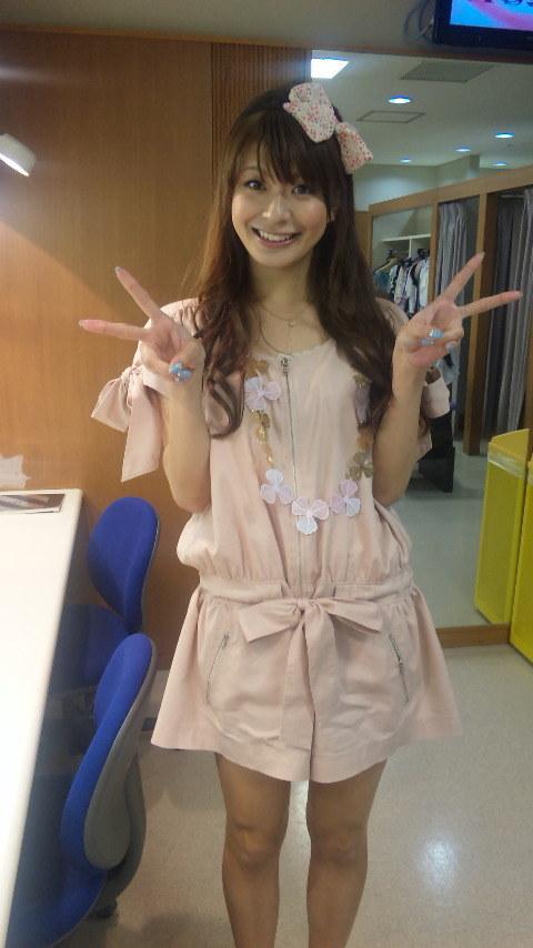 八田亜矢子 セクシー 笑顔 Wピース エロかわいい画像