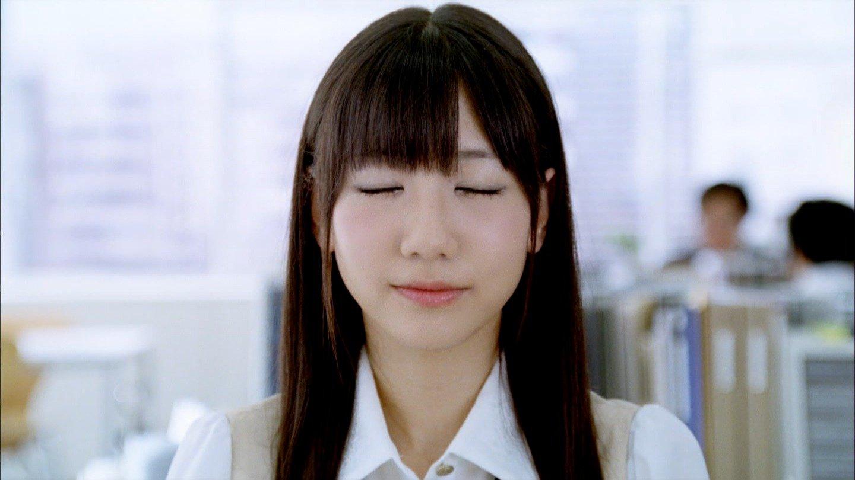 AKB48 柏木由紀 キスする前の顔(高画質) ワンダCM セクシーOLコスプレ 顔アップ 唇 エロかわいい画像