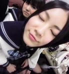SKE48 松井珠理奈 AKB48 佐藤すみれ セクシー 顔アップ 目を閉じている キス顔 高校生 ぶっかけ用 顔射用 高画質 エロかわいい画像4