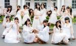 SKE48 アイシテラブル選抜 カメラ目線 壁紙サイズ 白ドレス 高画質エロかわいい画像