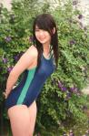 AKB48 平嶋夏海 セクシー 競泳水着 巨乳 太もも カメラ目線 高画質エロかわいい画像2