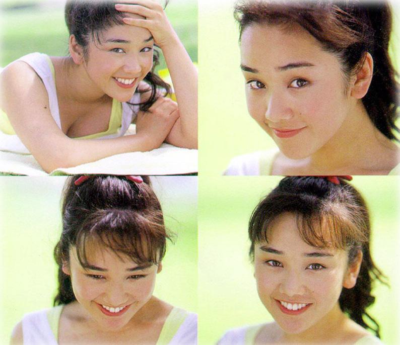 西田ひかる セクシー おっぱいの谷間 顔アップ 80年代 笑顔 エロかわいい画像22