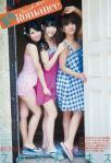 AKB48 柏木由紀 高城亜樹 倉持明日香 セクシー カメラ目線 太もも フレンチキス ビーチサンダル 高画質エロかわいい画像1