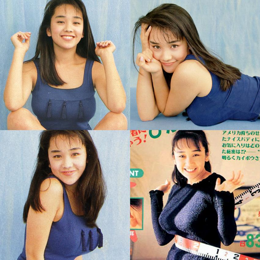 西田ひかる セクシー 巨乳 おっぱい ムチムチ 80年代 笑顔 エロかわいい画像27
