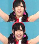 AKB48 渡辺麻友まゆゆ セクシー 脇 顔アップ 口開け舌 カメラ目線 おさげ キャプチャー 顔射ぶっかけ用オナドル 高画質エロかわいい画像25