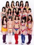 AKB48 2012年アンダーガールズ(高城亜樹 山本彩 渡辺美優紀 他) ビキニ水着 巨乳おっぱいの谷間 ニーソックス 太もも ぶっかけ用オナドル 高画質エロかわいい画像3