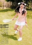 AKB48 島田晴香 セクシー テニスウェア ミニスカート 笑顔 カメラ目線 高画質エロかわいい画像5