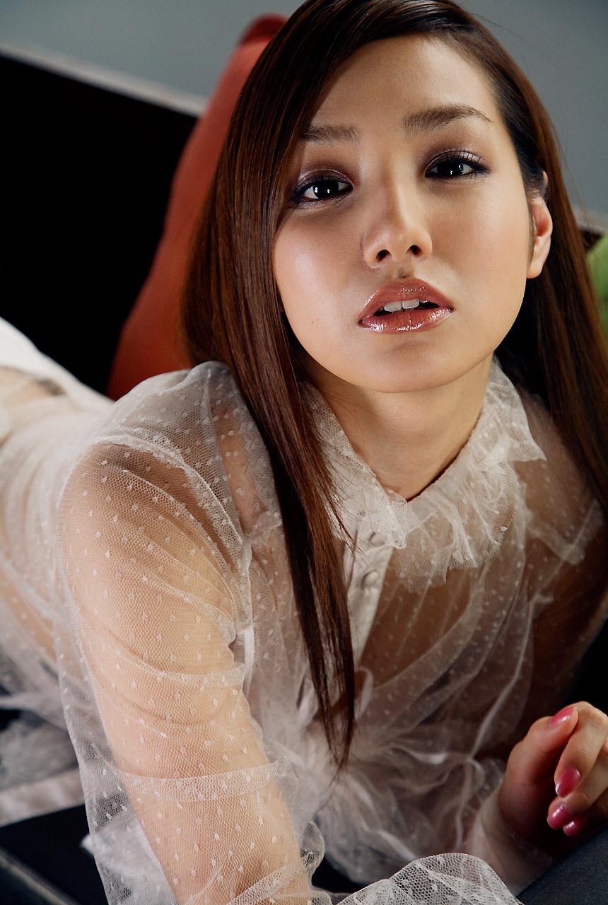 周防玲子(すほうれいこ) セクシー シースルー 着エロ 唇 顔アップ ぶっかけ用 エロかわいい画像10