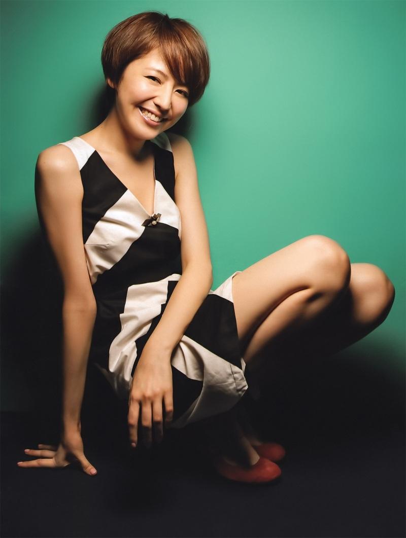 長澤まさみ セクシー ショートヘア 笑顔 エロかわいい画像1
