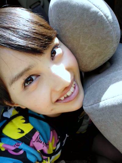 モモクロ赤 百田夏菜子(ももたかなこ) セクシー 上目遣い 顔アップ 口開け 舌 歯 唇 顔射用 エロかわいい画像2
