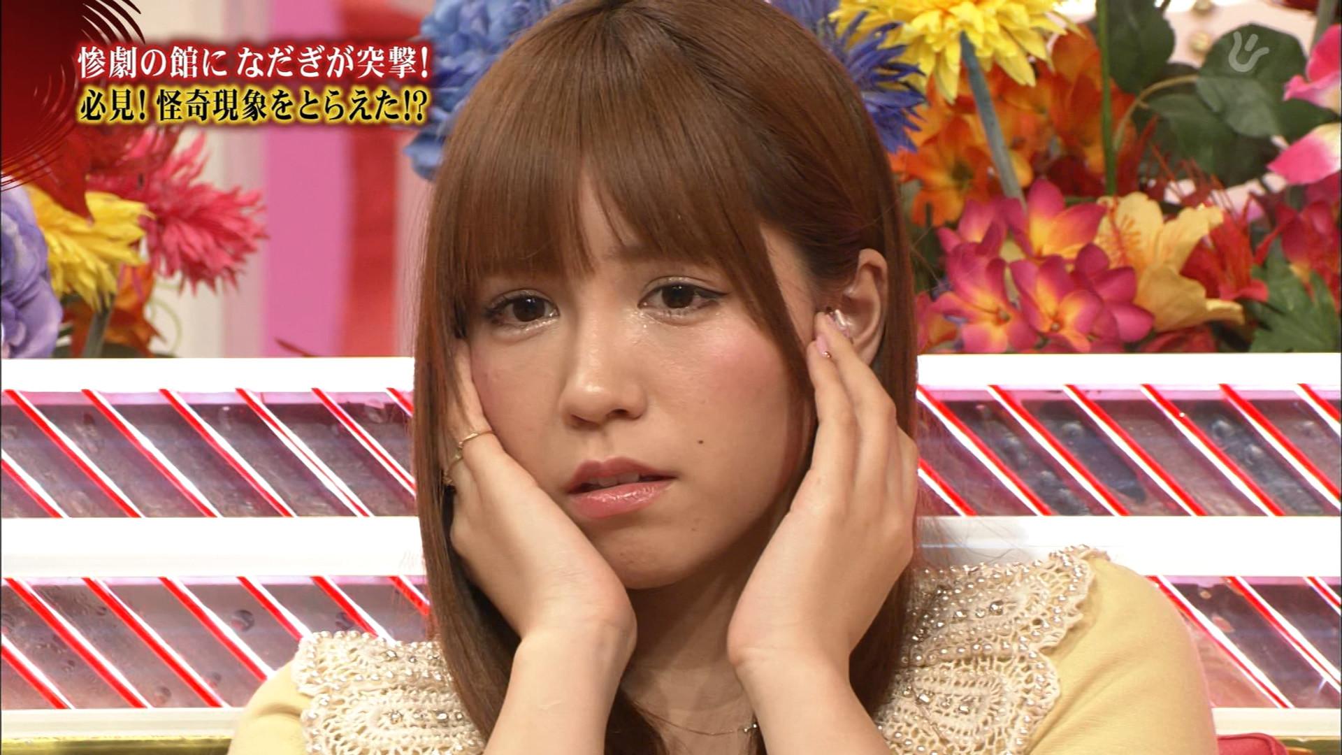 AKB48 河西智美 セクシー 顔アップ 怖がり 怯え キャプチャー 高画質 エロかわいい画像