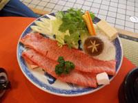 松坂牛すき焼き