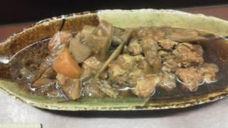 手羽元と根菜の煮物