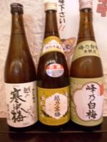 新潟の日本酒3本