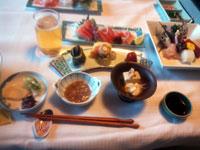 金目鯛刺身付き昼食